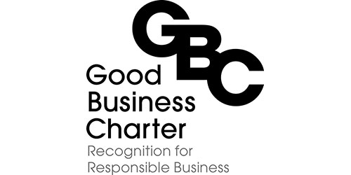 Recognition for Responsible Business: Good Business Charter logo