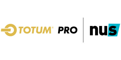 TOTUM Pro powered by NUS Logo